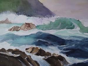 Ruige-kust-aquarel-300x225
